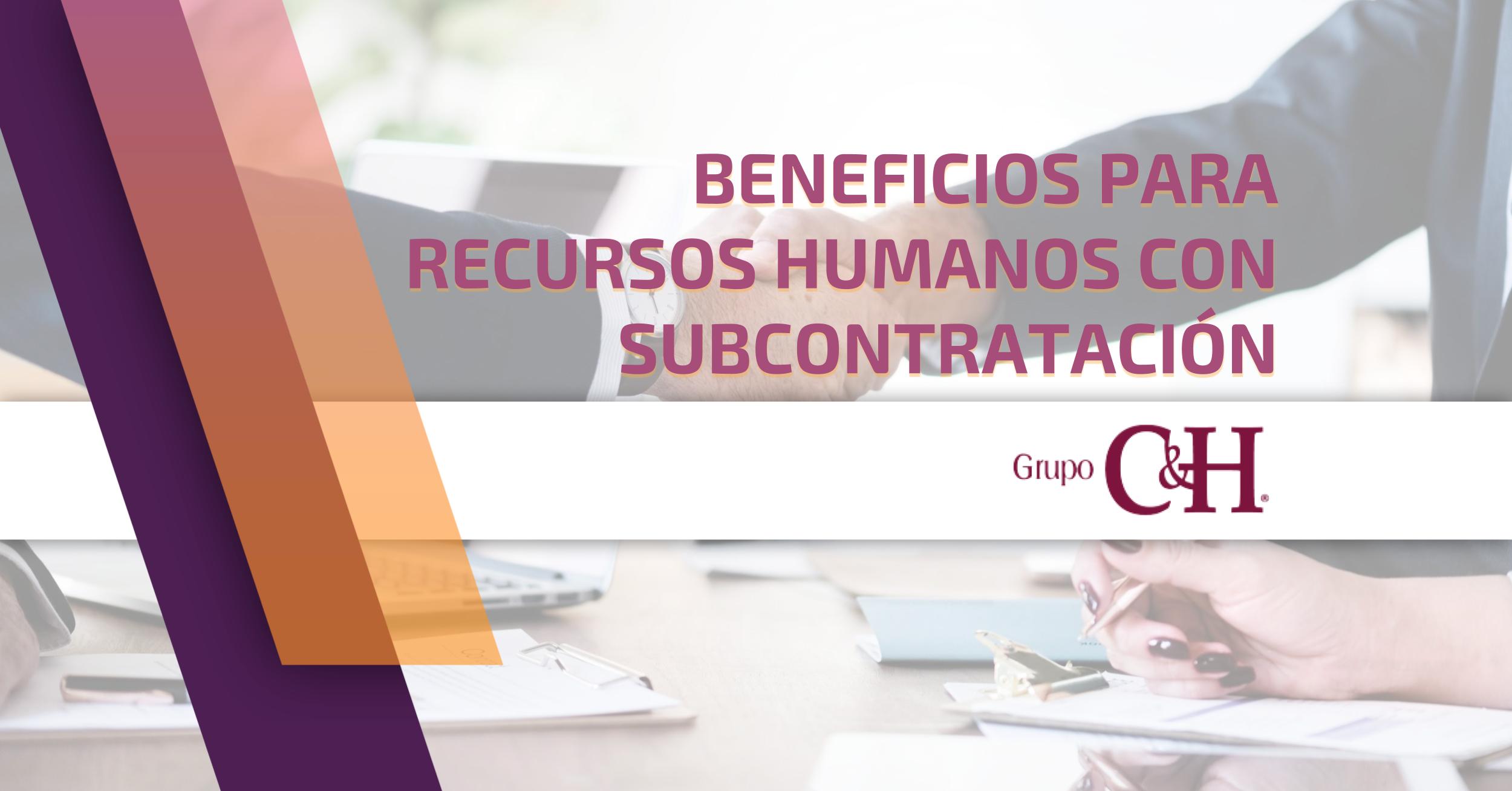 Outsourcing beneficios recursos humanos