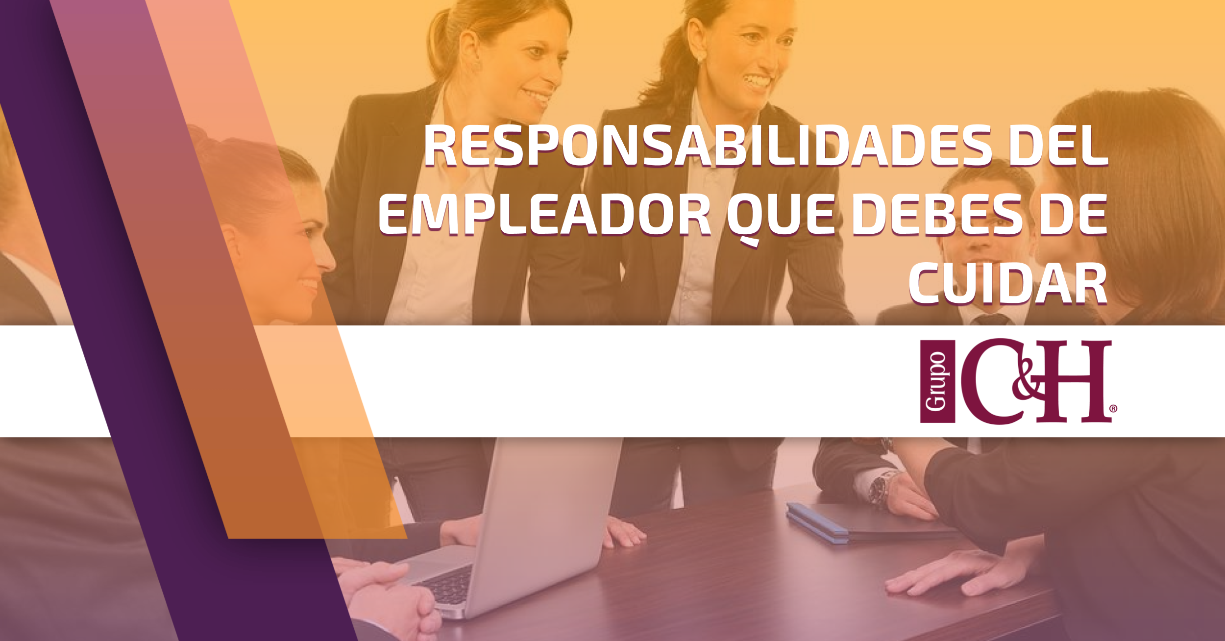 Responsabilidades del empleador