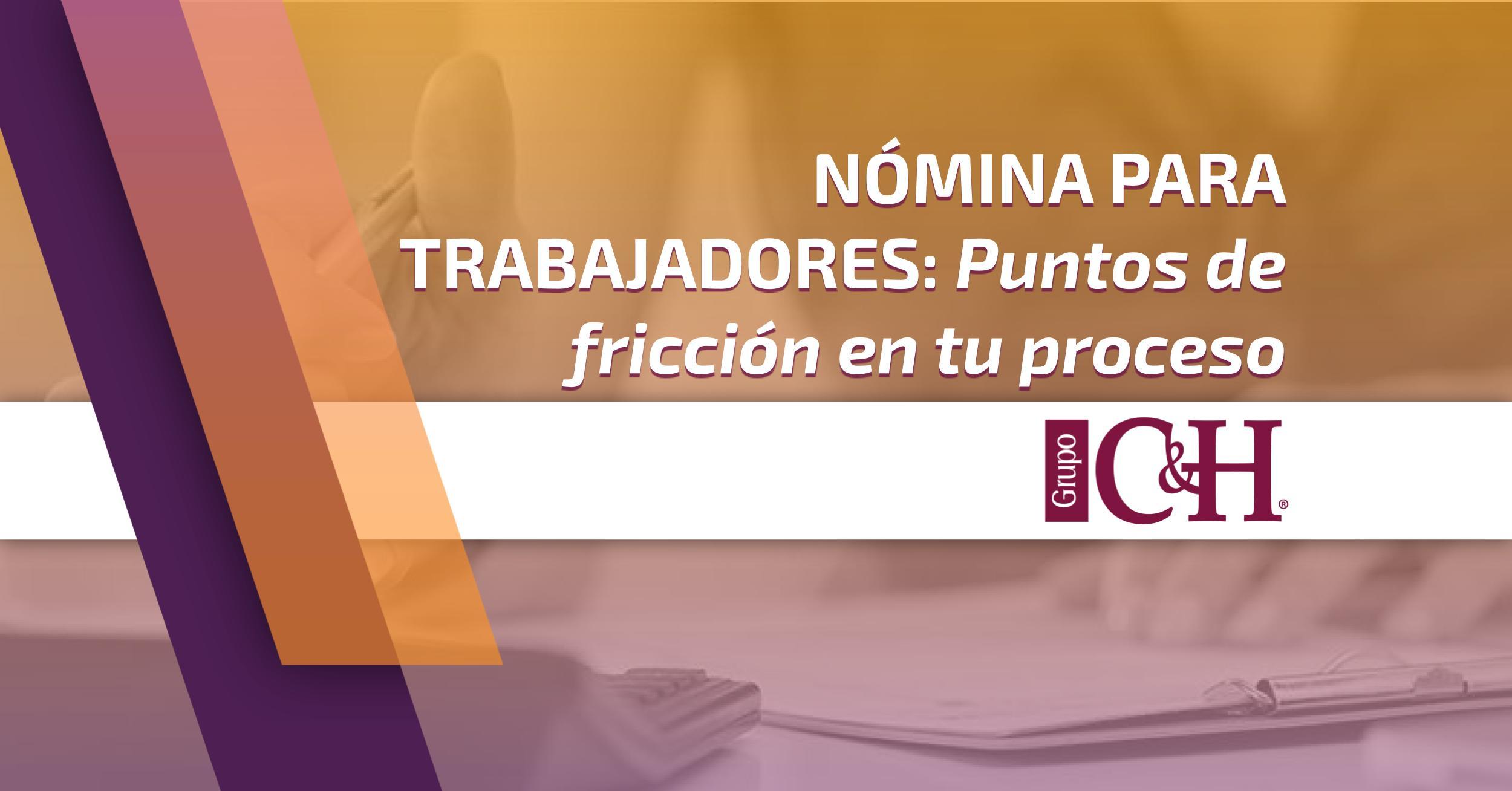 nomina para trabajadores